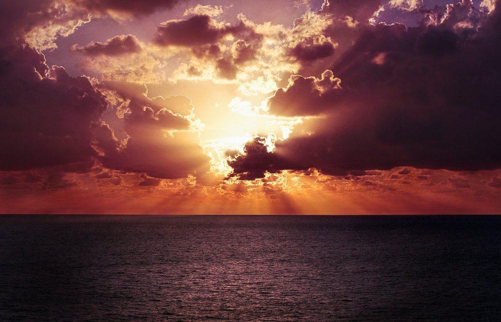 Sunset Foto, Online KollektifTreffen mit der Akasha Chronik